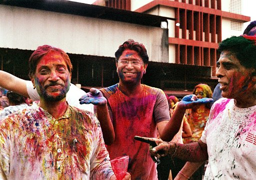 Golly-Gee, it's Holi!