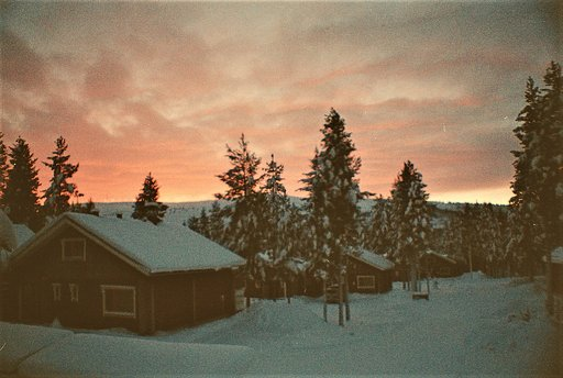 Around the World in Analogue: Lapland, Finland