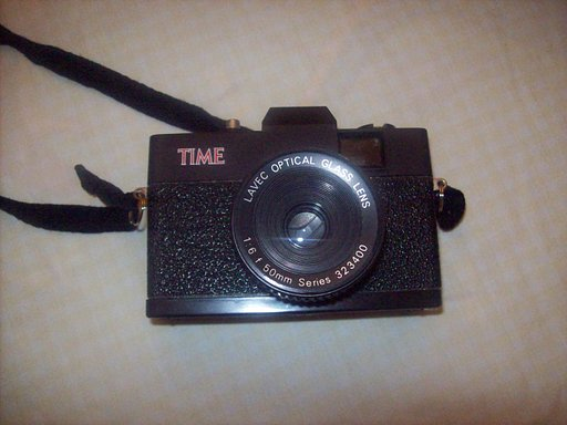 Time Magazine Camera: Poor Man's Holga 135?