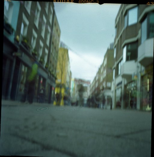 Perpetual Pinholes: London and the Diana F+
