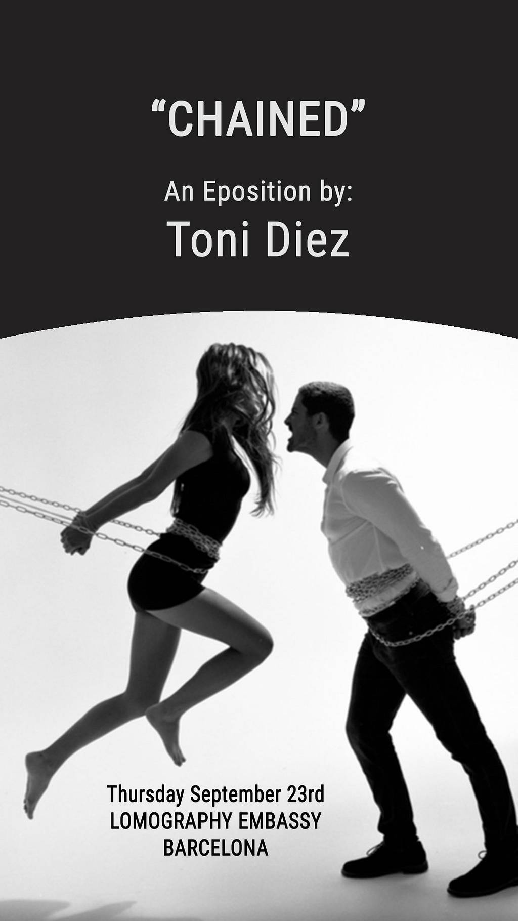 """""""Chained"""": Exposition by Tony Diez"""