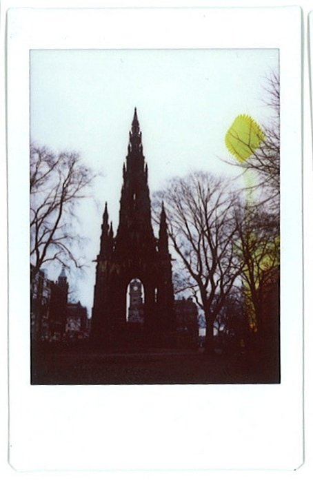 Around Edinburgh with My Fuji Instax Mini