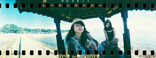 mariemichi on the Spinner 360° x Lomography CN 400 35mm