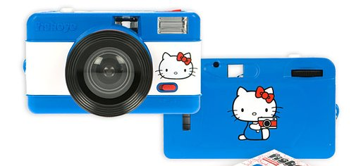 Hello Kitty Meets the Fisheye