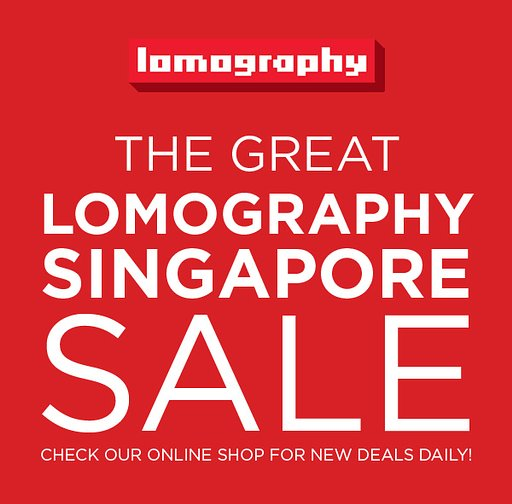 The Great Lomography Singapore Sale