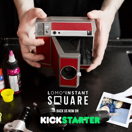 Save up to 35% on the Lomo'Instant Square!