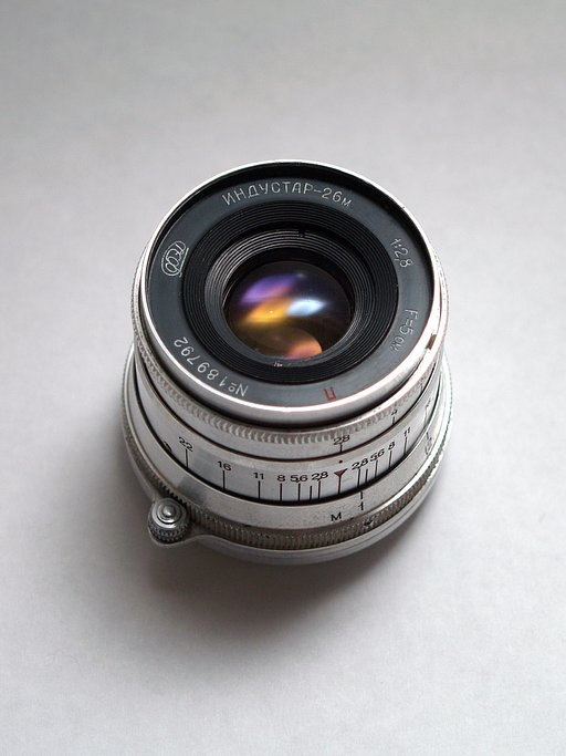 Lomopedia: Lente Industar 26M 50mm