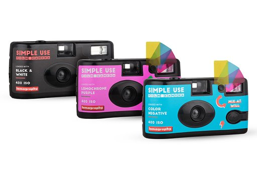 Simple Use Film Camera en pack de 3 !