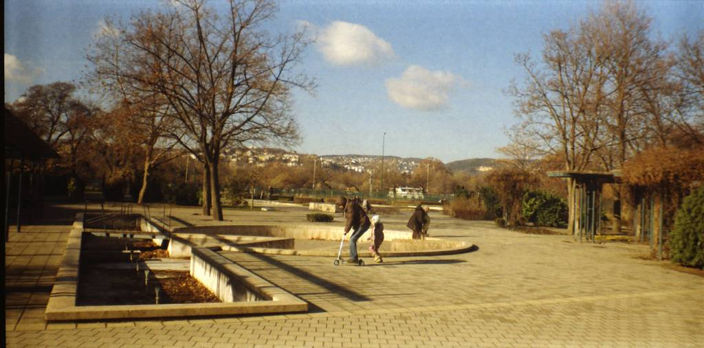 Szent István Park: A Small Park at the Bank of the Danube