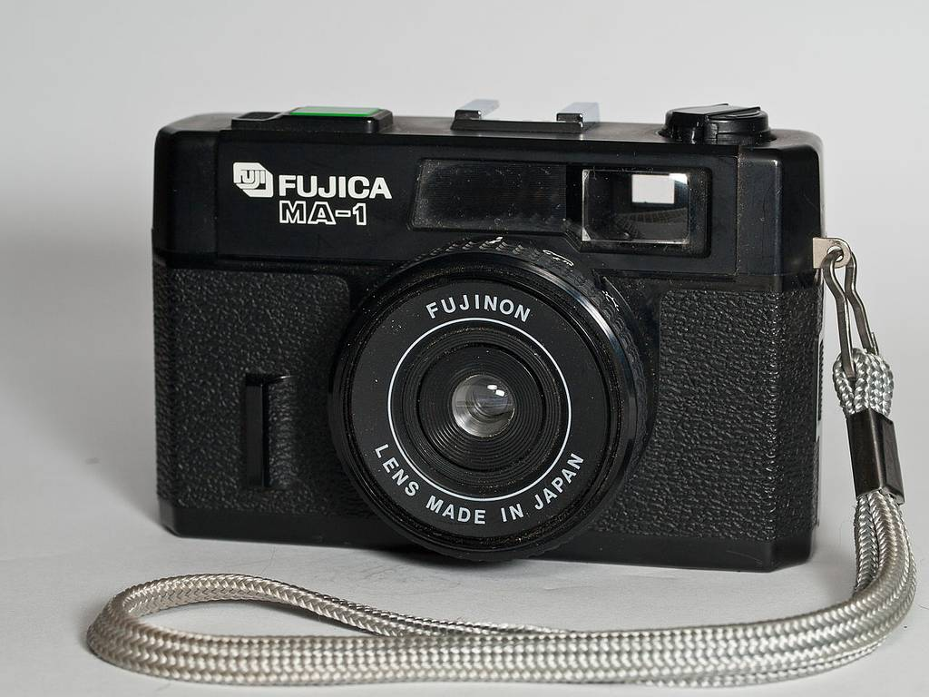 "Fujica MA 1: ""Lens Made in Japan"""