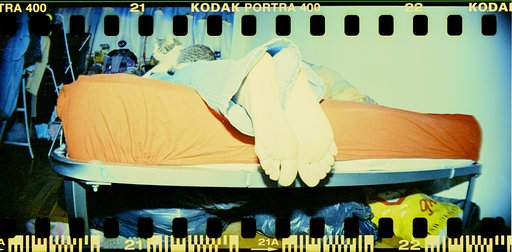 She's here Pt.6 - POP with Lomography Sprocket Rocket SUPERPOP! Yellow!