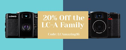 Advent Calendar Deals - December 21st: 20% Off the LC-A Family!