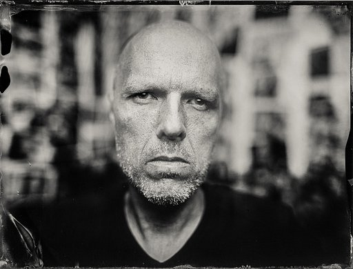 Shooting a Wet Plate Portrait with a Wide-angle f/4 Lens by Markus Hofstätter