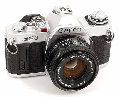 Canon AV-1: Your Introduction to the Basics of Photography.