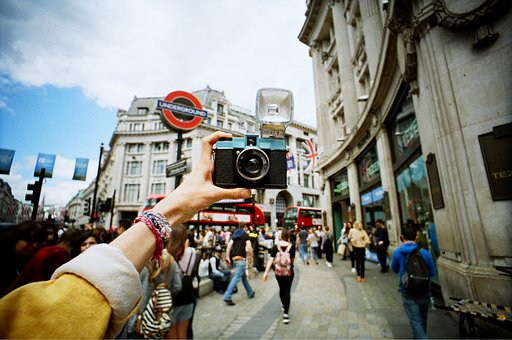 Lomography Soho Workshops and Events in August