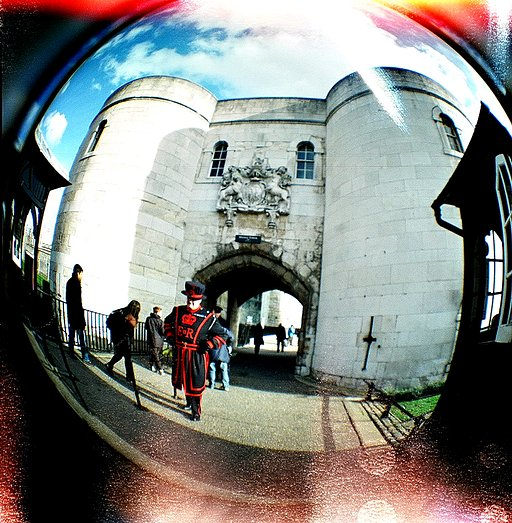 Circling the square: the 20mm Fisheye lens for Diana F+