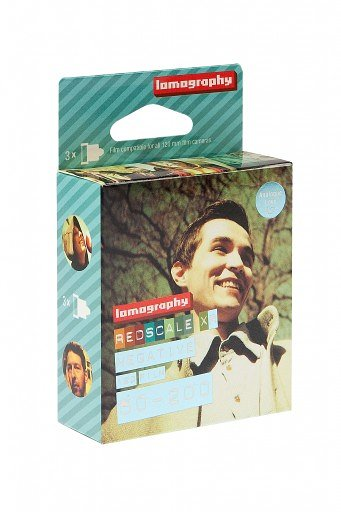 Lomography Redscale XR 50 200 120 (3 pack)